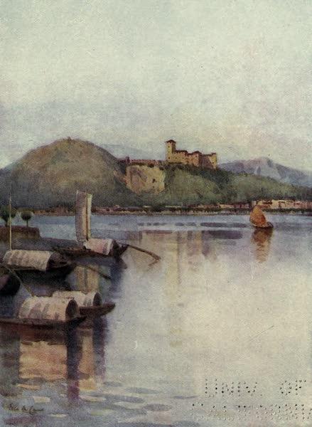 The Italian Lakes, Painted and Described - Angera, Lago Maggiore (1912)
