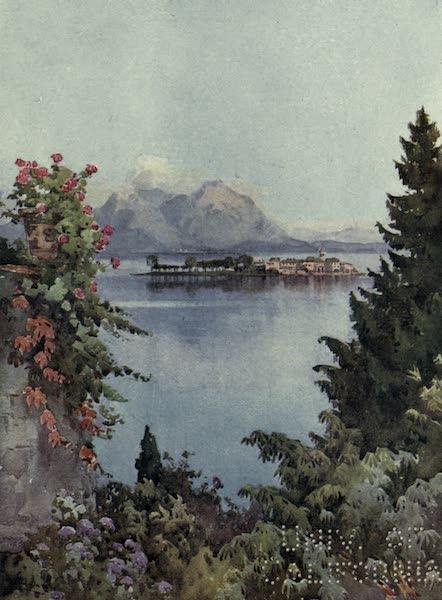 The Italian Lakes, Painted and Described - A Garden at Baveno, Lago Maggiore (1912)