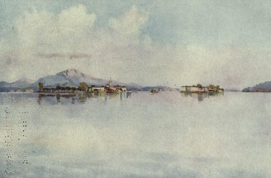 The Italian Lakes, Painted and Described - Isola Bella and Isola Pescatori, Lago Maggiore (1912)