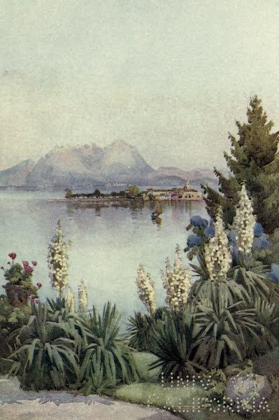 The Italian Lakes, Painted and Described - Isola Pescatori from Baveno, Lago Maggiore (1912)
