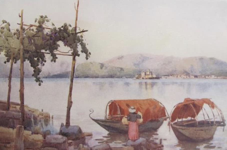 The Italian Lakes, Painted and Described - Evening, Lago d'Orta (1912)