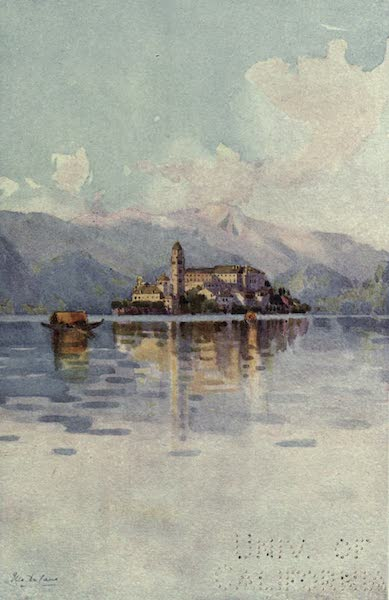The Italian Lakes, Painted and Described - Isola San Giulio, Lago d'Orta (1912)