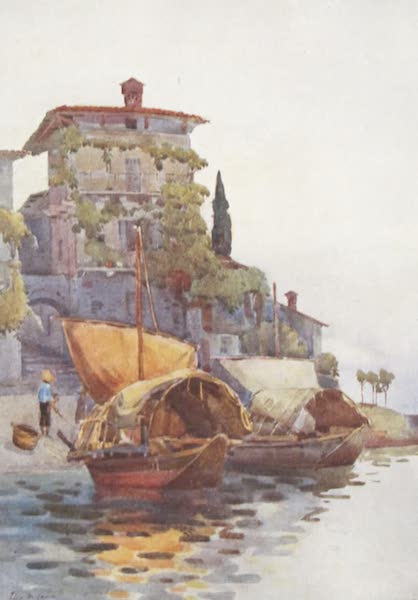The Italian Lakes, Painted and Described - Fishing Boats (1912)