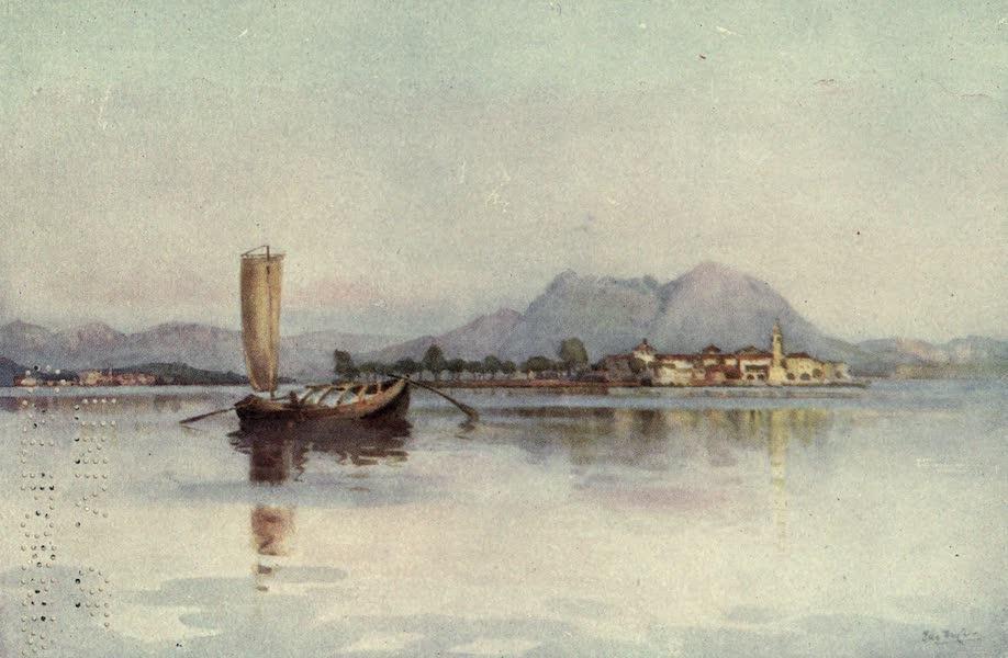 The Italian Lakes, Painted and Described - Isola Pescatori, Lago Maggiore (1912)