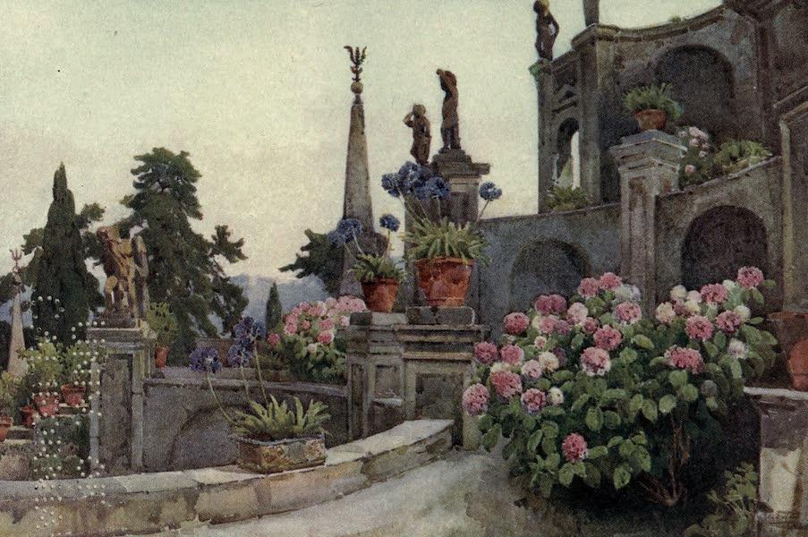 The Italian Lakes, Painted and Described - In the Garden, Isola Bella, Lago Maggiore (1912)