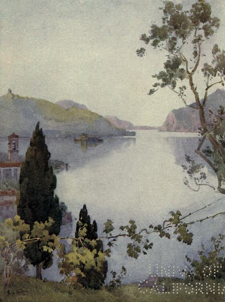 The Italian Lakes, Painted and Described - Lago d'Iseo (1912)