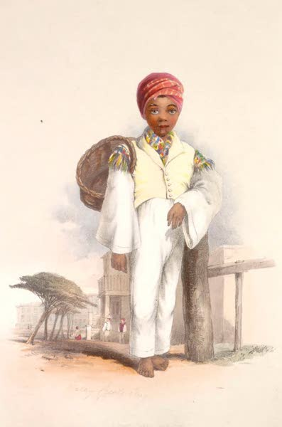 The Kafirs Illustrated in a Series of Drawings - Makay Creole Boy (1849)