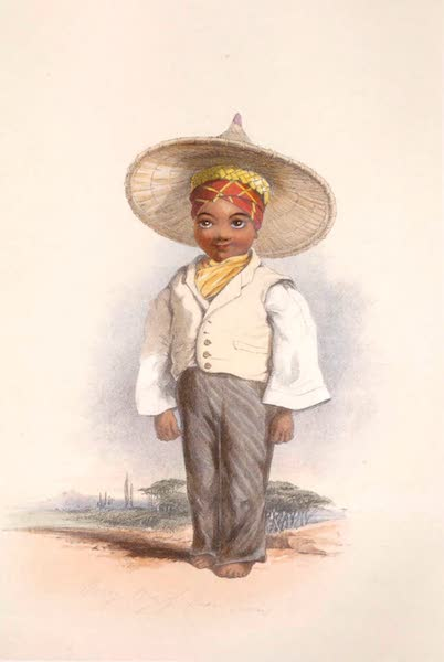 The Kafirs Illustrated in a Series of Drawings - Malay Boy of Cape Town (1849)