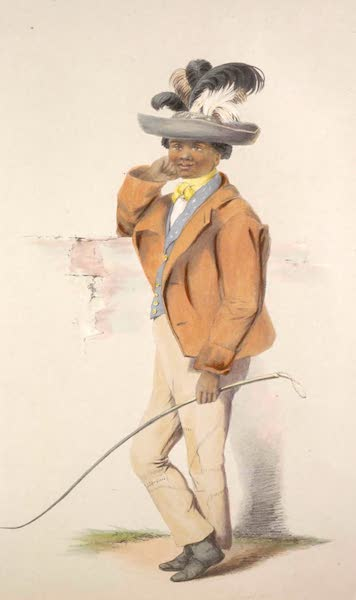 The Kafirs Illustrated in a Series of Drawings - Christian Matthei, a Half-Caste Hottentot (1849)
