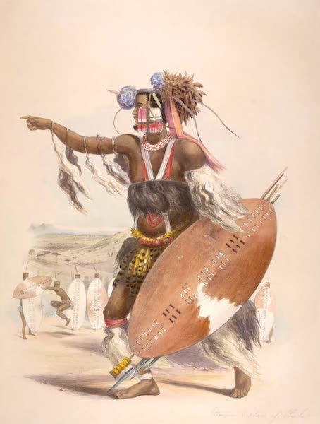 The Kafirs Illustrated in a Series of Drawings - Utimuni, Nephew of Chaka the late Zulu King (1849)