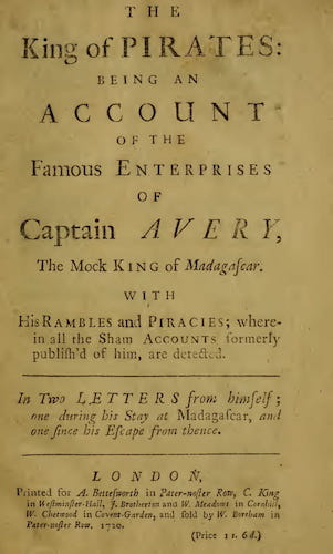 The King of Pirates (1720)