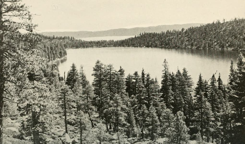 The Lake of the Sky, Lake Tahoe - Cascade Lake and Lake Tahoe the Lake of the Sky (1915)