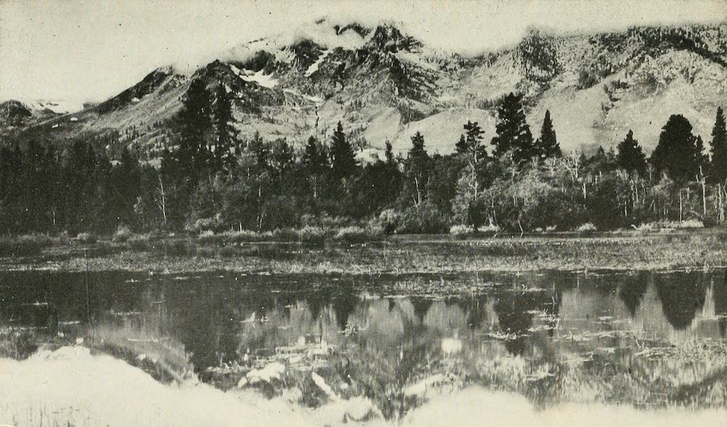 The Lake of the Sky, Lake Tahoe - Mt. Tallac in storm. Lake Tahoe, Cal. (1915)