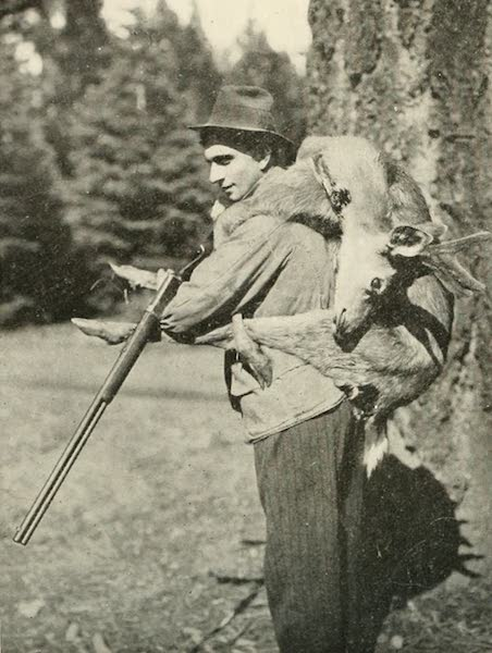 The Lake of the Sky, Lake Tahoe - The Successful Deer Hunter at Lake Tahoe (1915)