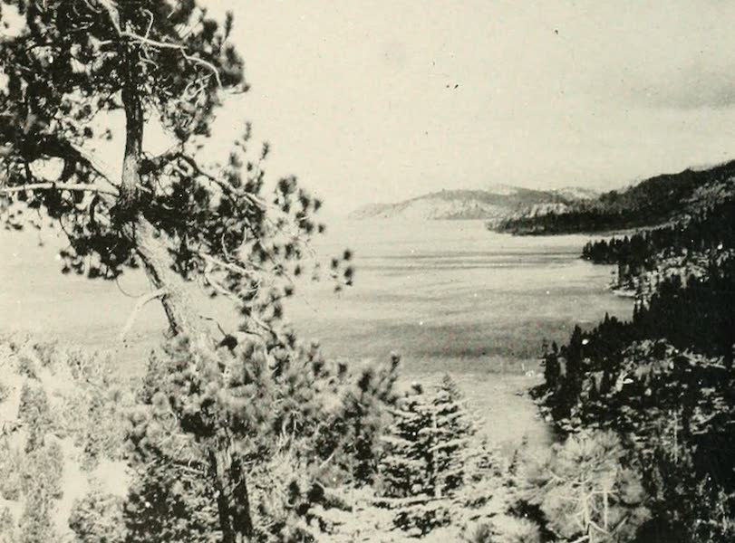 The Lake of the Sky, Lake Tahoe - Looking North from Cave Rock, Lake Tahoe (1915)