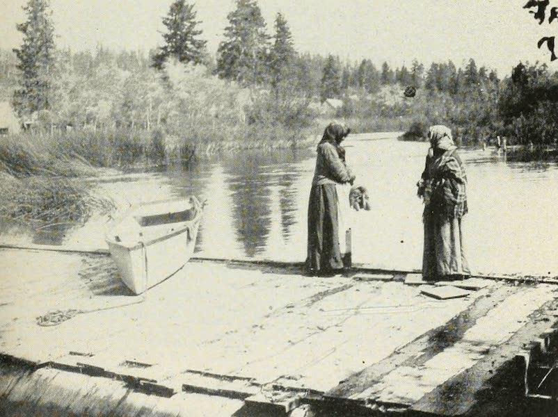 The Lake of the Sky, Lake Tahoe - Washoe indians at Lake Tahoe (1915)