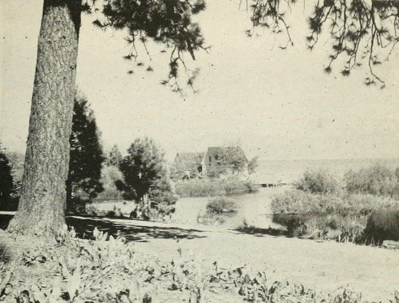 The Lake of the Sky, Lake Tahoe - Outlet of Lake Tahoe, Truckee River (1915)