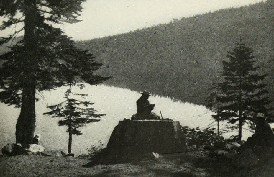 The Lake of the Sky, Lake Tahoe - Jackson, the Washoe indian, telling traditions of his people about Lake Tahoe and Fallen Leaf Lake (1915)