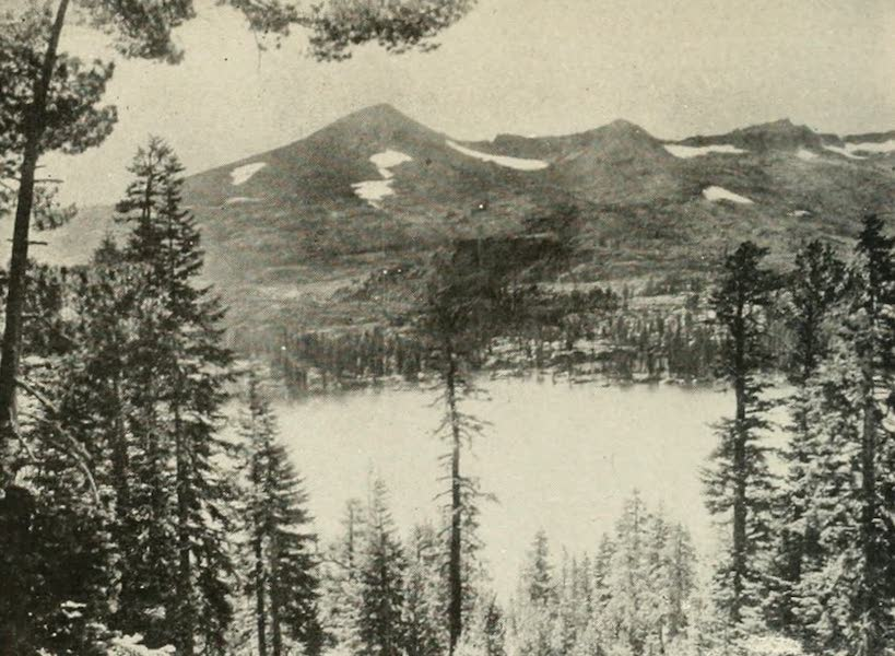 The Lake of the Sky, Lake Tahoe - Pyramid Peak and Lake of the Woods (1915)