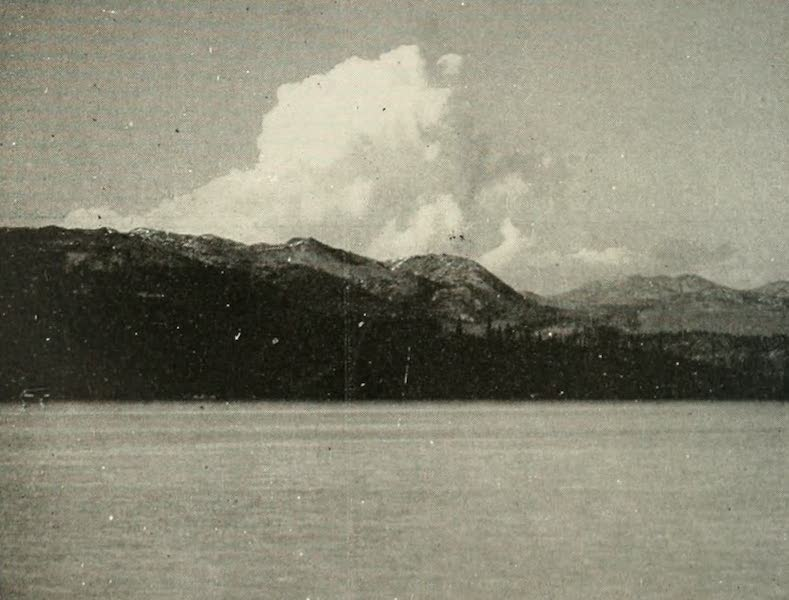 The Lake of the Sky, Lake Tahoe - Clouds Over the Mountain, Lake Tahoe (1915)