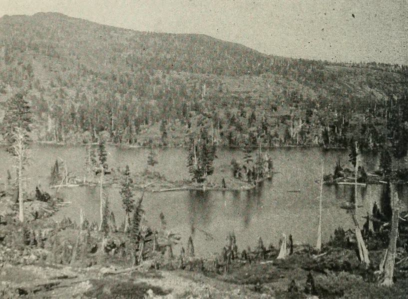 The Lake of the Sky, Lake Tahoe - Susie Lake, near Glen Alpine Springs (1915)