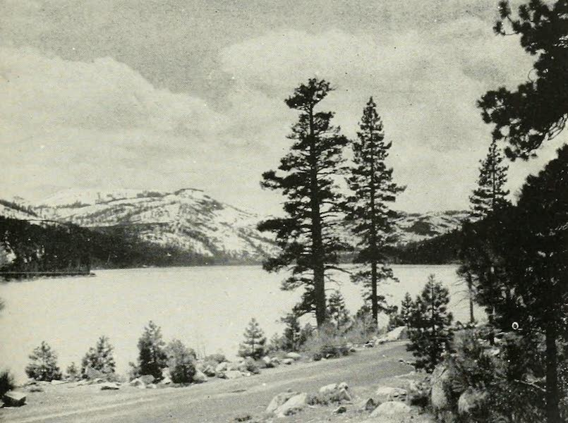 The Lake of the Sky, Lake Tahoe - Donner Lake, on the Automobile Highway from Sacramento to Truckee and Lake Tahoe (1915)