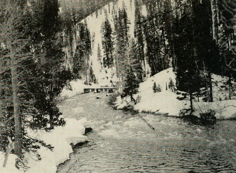 The Lake of the Sky, Lake Tahoe - The Canyon of the Truckee River in Winter (1915)
