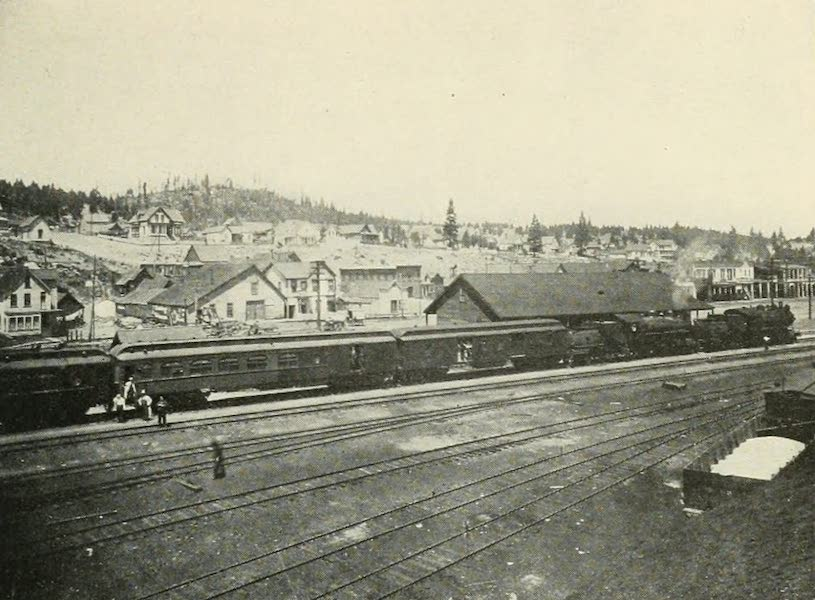The Lake of the Sky, Lake Tahoe - Truckee, Calif., Where Travelers Take Trains for Lake Tahoe (1915)