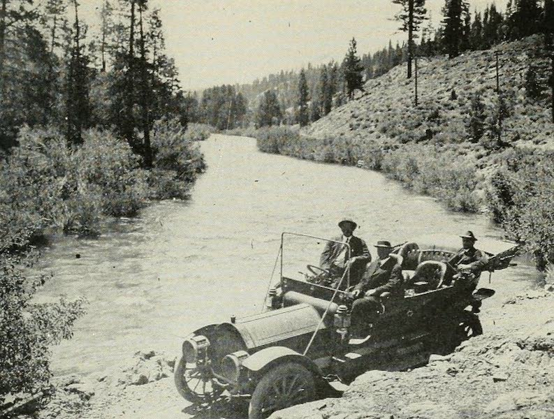 The Lake of the Sky, Lake Tahoe - Automobiling along the Truckee River (1915)