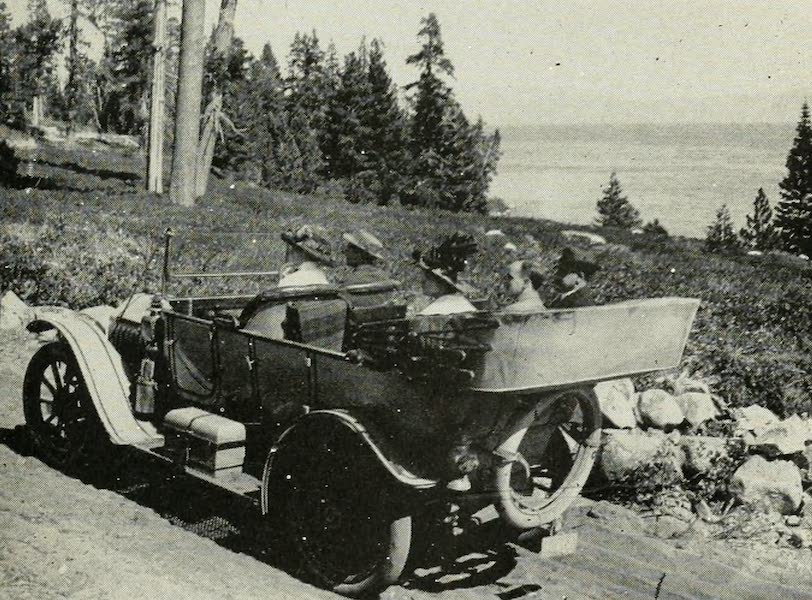 The Lake of the Sky, Lake Tahoe - On the Automobile Boulevard Around Lake Tahoe (1915)