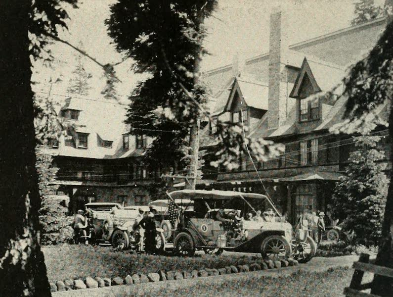 The Lake of the Sky, Lake Tahoe - Atlantic to Pacific Automobile Party, Premier Tour, 1911, Stopping at Tahoe Tavern (1915)