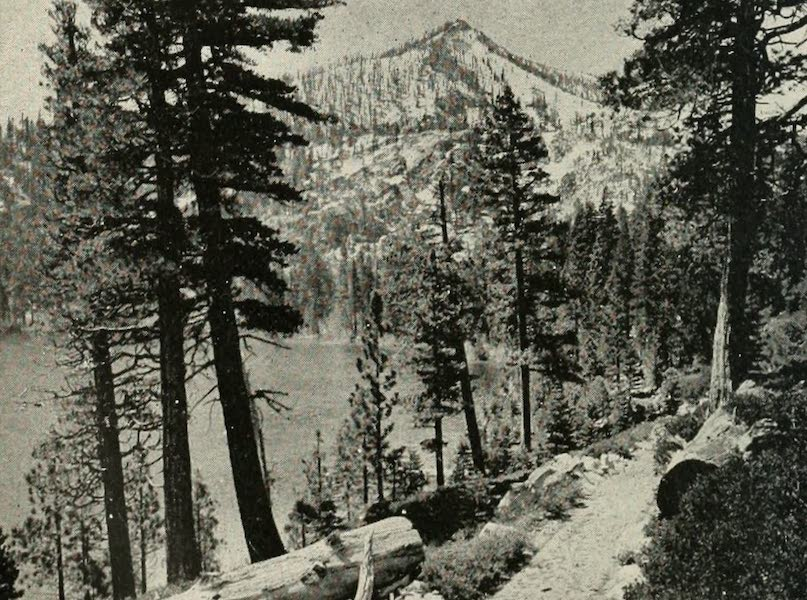 The Lake of the Sky, Lake Tahoe - Copyright 1910, by Harold A. Parker. Cascade Lake and Mt. Tallac (1915)
