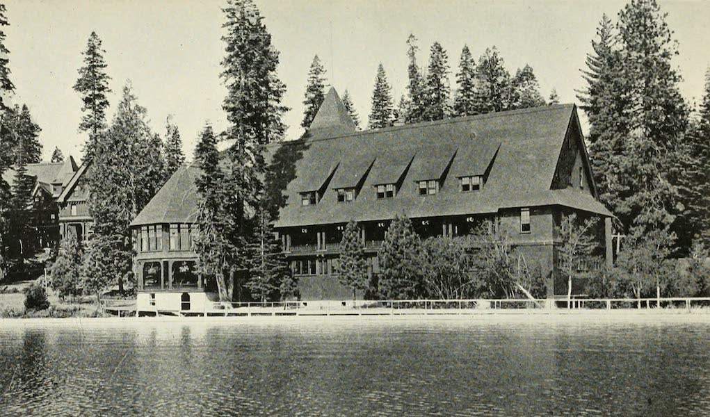 The Lake of the Sky, Lake Tahoe - Casino at Tahoe Tavern, From Pier (1915)