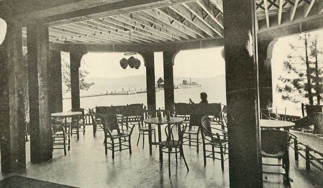 The Lake of the Sky, Lake Tahoe - Pier, Steamer Tahoe, and Lake Tahoe from Casino (1915)