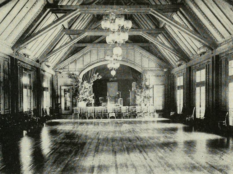 The Lake of the Sky, Lake Tahoe - Ballroom in the Casino, Tahoe Tavern (1915)