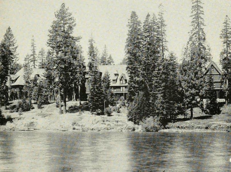 The Lake of the Sky, Lake Tahoe - Tahoe Tavern from Lake Tahoe (1915)