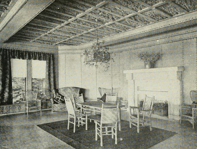 The Lake of the Sky, Lake Tahoe - Ladies' Lounging Room, the Casino, Tahoe Tavern (1915)