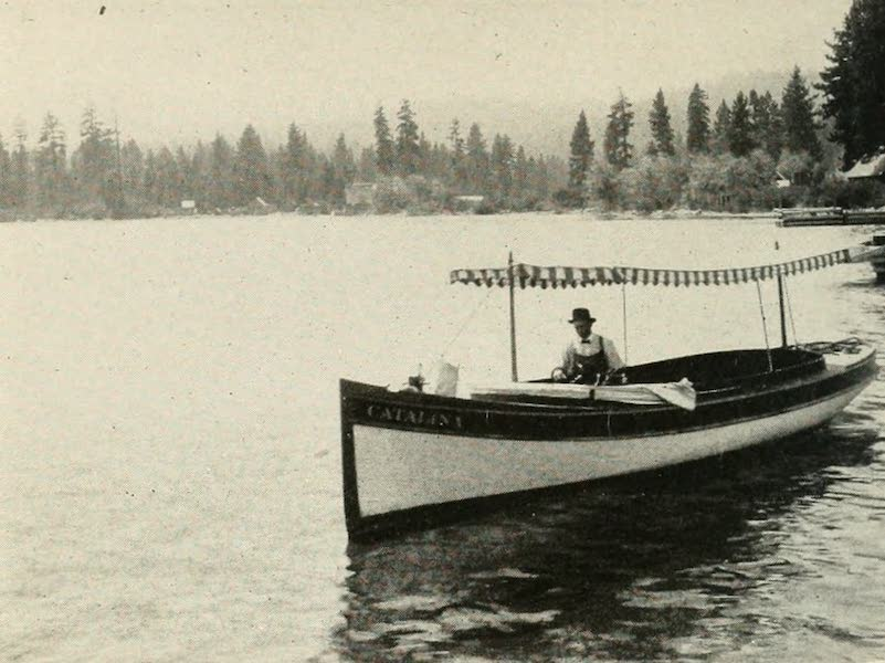 The Lake of the Sky, Lake Tahoe - The Launch Catalini, Lake Tahoe (1915)