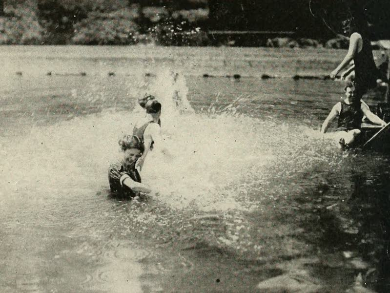 The Lake of the Sky, Lake Tahoe - Bathing in Lake Tahoe, Near Tahoe Tavern (1915)