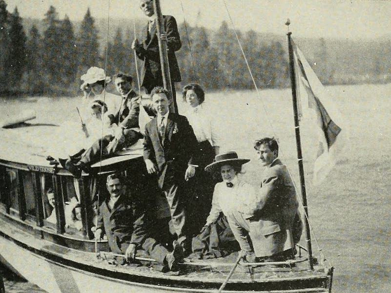 The Lake of the Sky, Lake Tahoe - Pleasure Party on the 'Wild Goose', Lake Tahoe (1915)