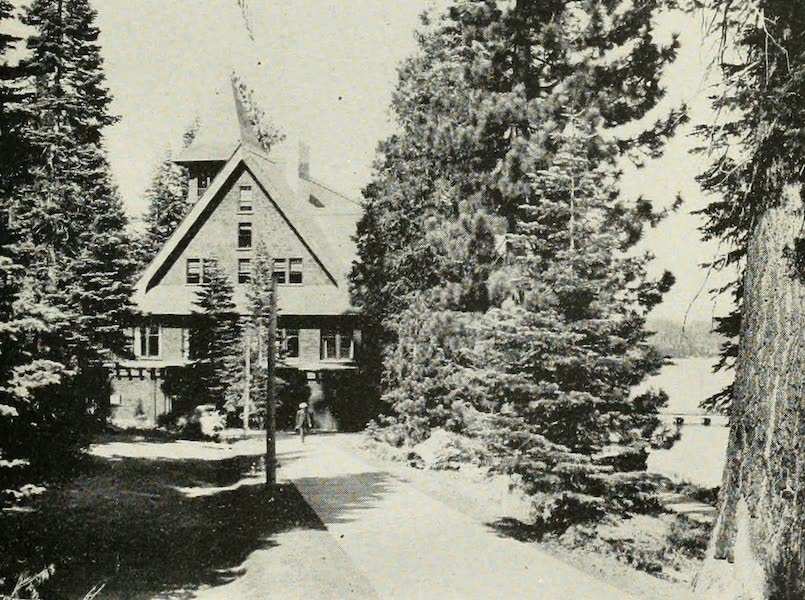The Lake of the Sky, Lake Tahoe - Looking Toward the Casino, Tahoe Tavern, Lake Tahoe (1915)
