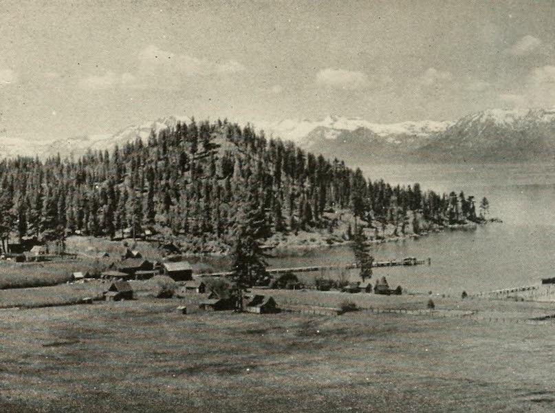 The Lake of the Sky, Lake Tahoe - Glenbrook on the Nevada side of Lake Tahoe (1915)