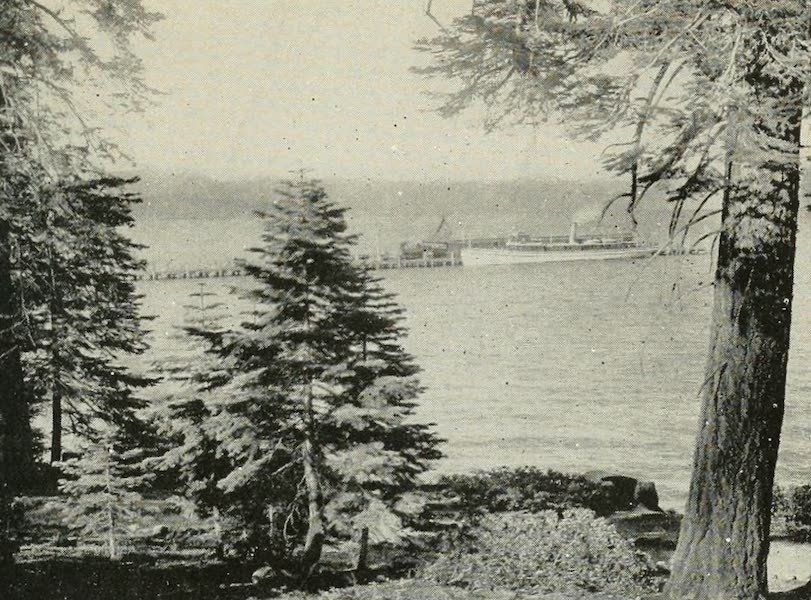 The Lake of the Sky, Lake Tahoe - Lake Tahoe from Tahoe Tavern (1915)