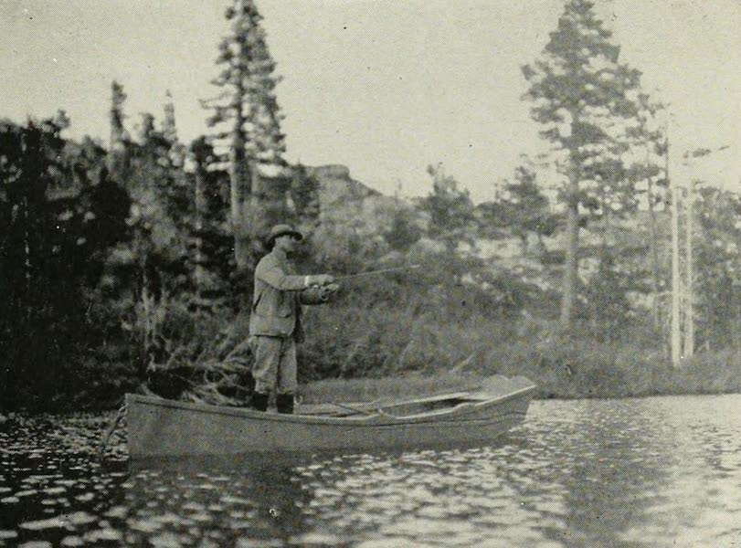 The Lake of the Sky, Lake Tahoe - Fishing in Grass Lake, Near Glen Alpine Springs (1915)