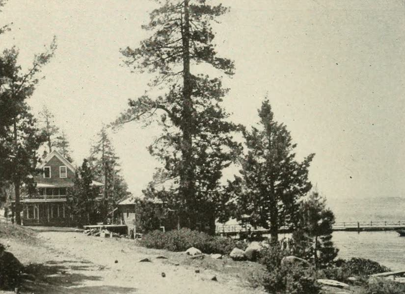 The Lake of the Sky, Lake Tahoe - Brockway's Hot Springs Hotel, Lake Tahoe (1915)