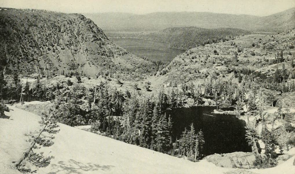 The Lake of the Sky, Lake Tahoe - Angora Lakes, Fallen Leaf Lake and Lake Tahoe (1915)