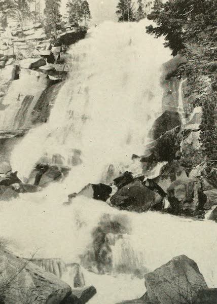 The Lake of the Sky, Lake Tahoe - White Cloud Falls, Cascade Lake (1915)