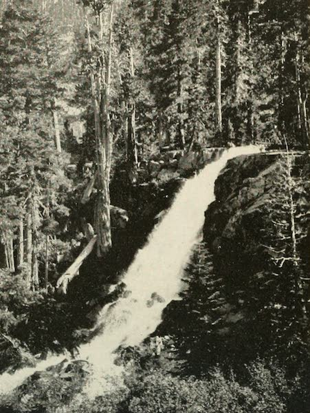 The Lake of the Sky, Lake Tahoe - Upper Eagle Falls, Emerald Bay, Lake Tahoe (1915)