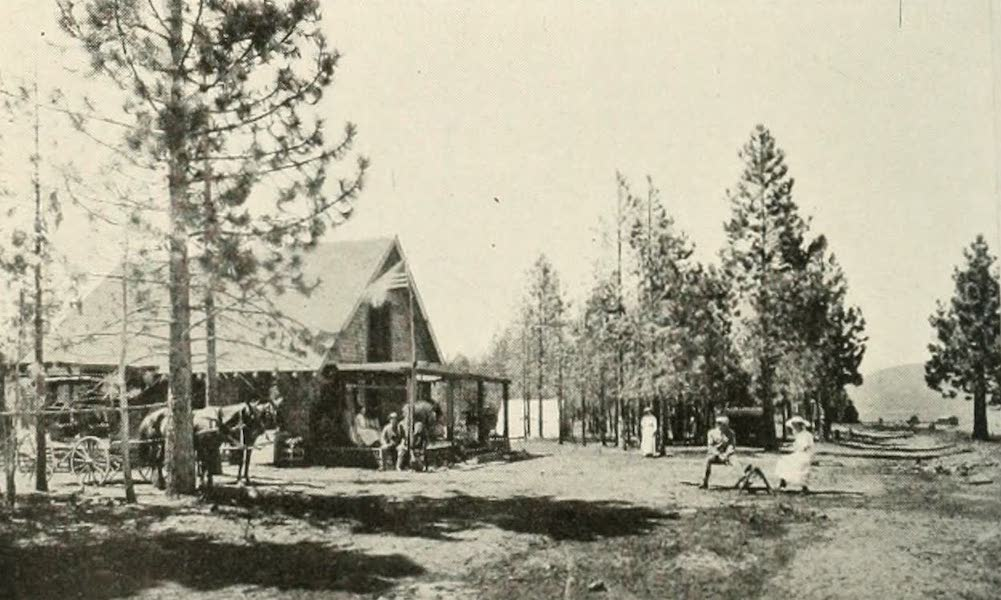 The Lake of the Sky, Lake Tahoe - E. S. Brown Cottage, Al Tahoe, on Lake Tahoe (1915)