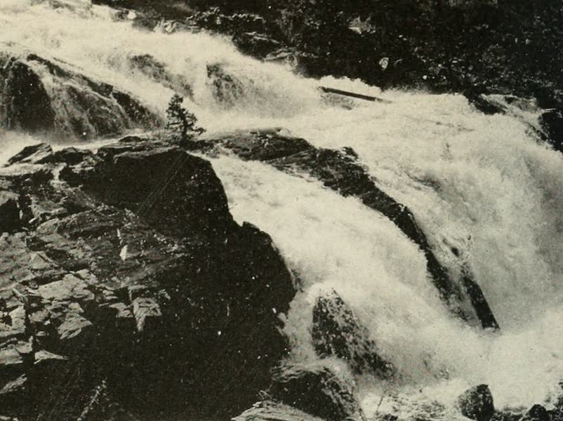 The Lake of the Sky, Lake Tahoe - Glen Alpine Falls, Near Glen Alpine Springs (1915)
